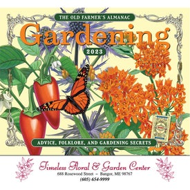 The Old Farmer Almanac Gardening Wall Calendar