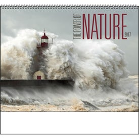 The Power of Nature - Spiral Calendar with Your Logo