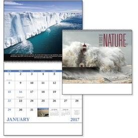 Custom The Power of Nature - Spiral Calendar