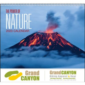 The Power of Nature - Spiral Calendar