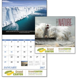 Promotional The Power of Nature - Stapled Calendar