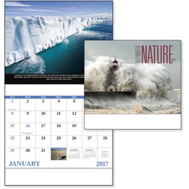 The Power of Nature - Stapled Calendar with Your Logo