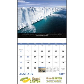 Personalized The Power of Nature - Stapled Calendar