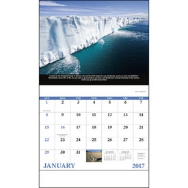 The Power of Nature - Stapled Calendar Giveaways