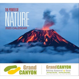 The Power of Nature - Stapled Calendar (2017)