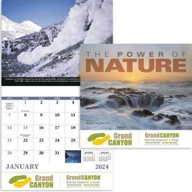 The Power of Nature - Stapled Calendar (2020)