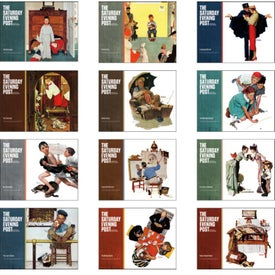 The Saturday Evening Post Spiral Calendar for your School