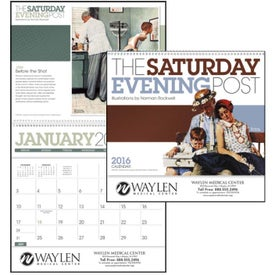 The Saturday Evening Post Deluxe Pocket Calendar (2020)
