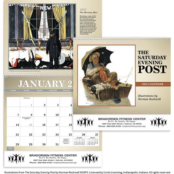 The Saturday Evening Post Deluxe Pocket Calendar (2020)