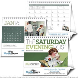 Saturday Evening Post Large Desk Calendar (2020)