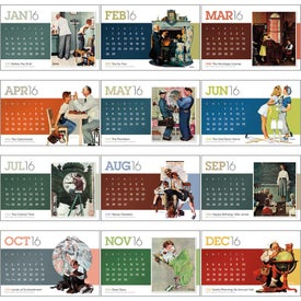 Printed Saturday Evening Post Large Desk Calendar