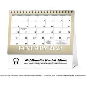 Saturday Evening Post Large Desk Calendar (2020)