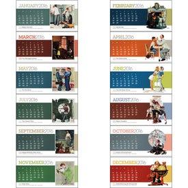 Branded The Saturday Evening Post Desk Calendar