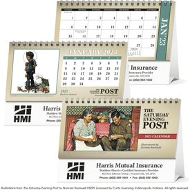 The Saturday Evening Post Desk Calendar (2017)