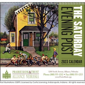 Advertising The Saturday Evening Post - Spiral Calendar