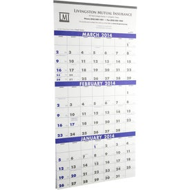 Imprinted 3-Month Planner