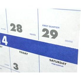 Advertising 3-Month Planner