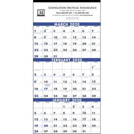 3-Month Planner (4 - Sheet, 2020)