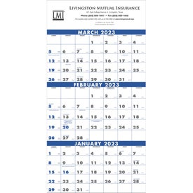 3-Month Planner (4 - Sheet, 2017)