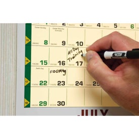 Time Management Span-A-Year Calendar Branded with Your Logo