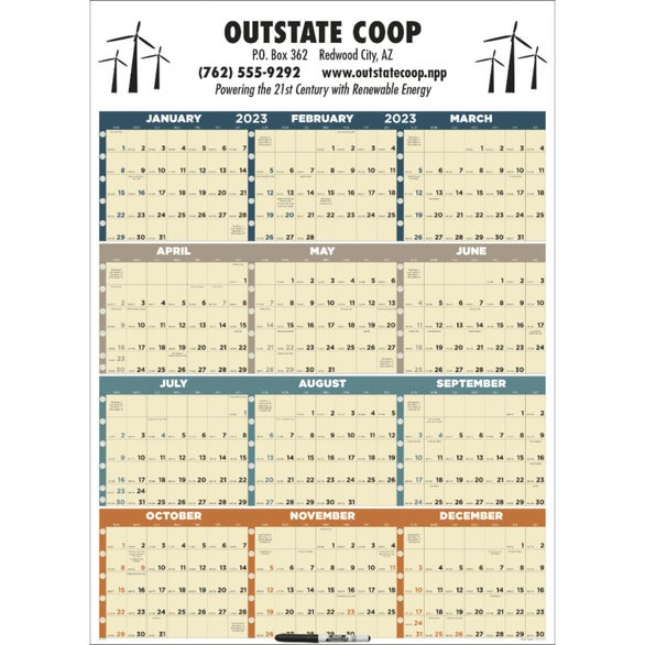 month by month calendar