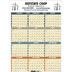 Time Management Span-A-Year Calendar (Laminated, 2020)