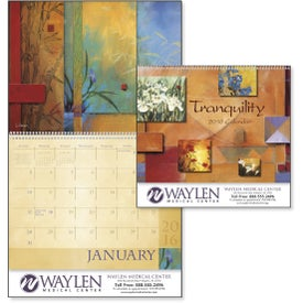 Printed Tranquility Appointment Calendar