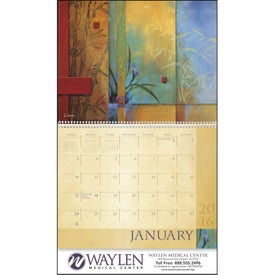 Custom Tranquility Appointment Calendar