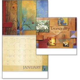 Advertising Tranquility Appointment Calendar