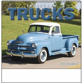 Company Treasured Trucks Spiral Calendar