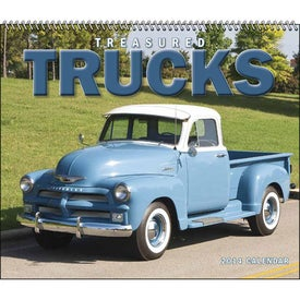 Promotional Treasured Trucks Spiral Calendar