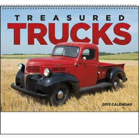 Treasured Trucks Spiral Calendar for Your Church