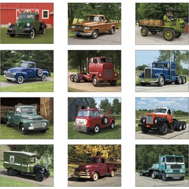 Treasured Trucks Spiral Calendar for Customization