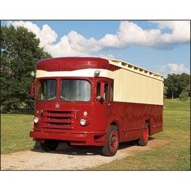 Treasured Trucks Spiral Calendar with Your Slogan