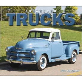 Treasured Trucks Stapled Calendar for your School