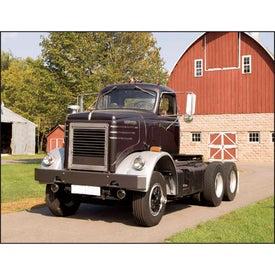 Personalized Treasured Trucks Stapled Calendar