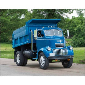 Printed Treasured Trucks Stapled Calendar