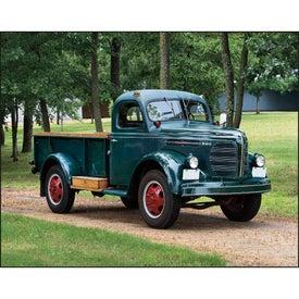 Advertising Treasured Trucks Stapled Calendar