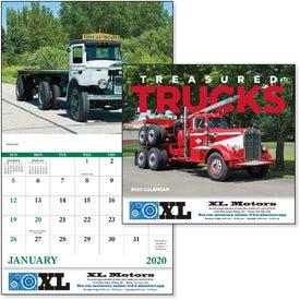 Treasured Trucks Stapled Calendar (2020)