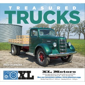 Treasured Trucks Stapled Calendar (2019)