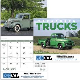Treasured Trucks Stapled Calendar (2017)