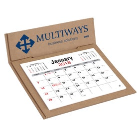 V Natural 3 Month Jumbo Pop Up Calendar