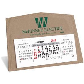 V Natural 3 Month Horizontal Pop Up Calendar