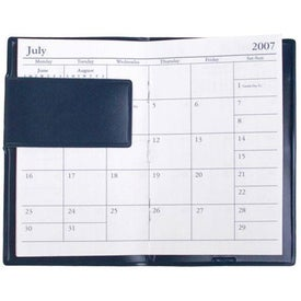 Monogrammed Value Plus Scan A Month Planner