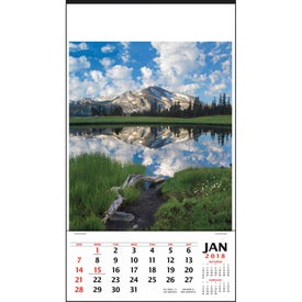 Vertical Hanger Calendar with Your Logo