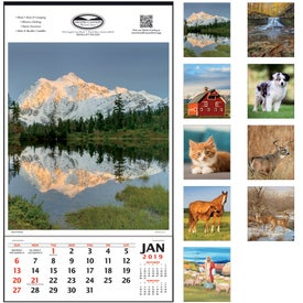 Vertical Hanger Calendar (without Date Blocks, 2017)