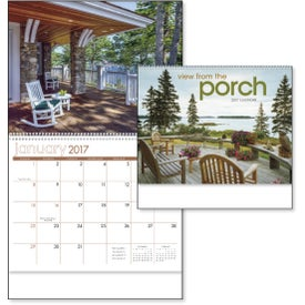 Printed View from the Porch - Calendar