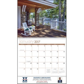 Custom View from the Porch - Calendar