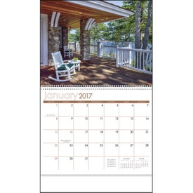 Imprinted View from the Porch - Calendar