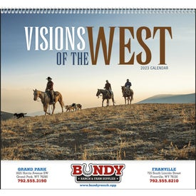 Visions of the West Appointment Calendar Giveaways